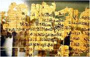 (Objets exposés au musée égyptien de Turin)